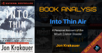 Book Analysis Into thin air bcm reads
