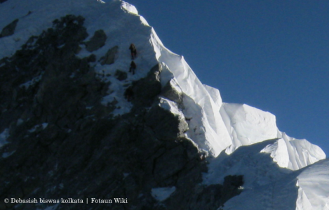 Hillary Step near Everest Topcropped