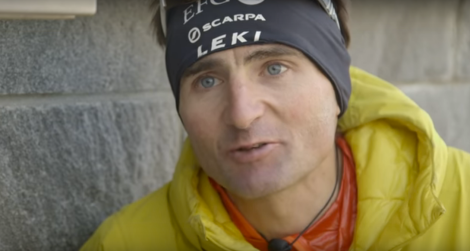 Ueli Steck on 2015 Eiger Record