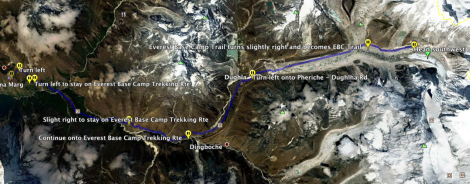 How to Get to Hotel Everest View from Everest Base Camp in Nepal