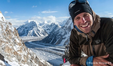 fredrik Strang smile on camp