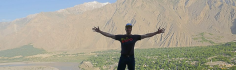 Fredrik Sträng Arrives in Skardu Ready for K2