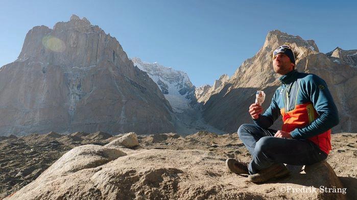 fredrik strang thinking on K2 2017. Fredrik Sträng Finally Reaches K2 Base Camp