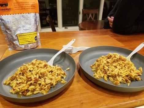 Orzo Pasta Bolognese