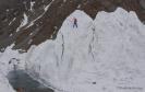 fredrik strang climbing ice on k2