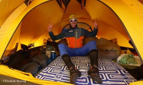 Fredrik Strang in tent k2 2017