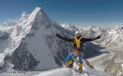 fredrik strang at k2 base camp
