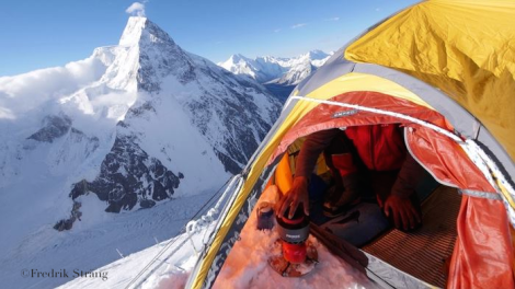 tent life on k2