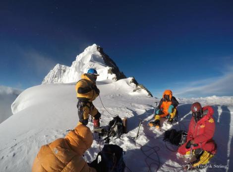 Fredrik strang climbs broad peak in 2017