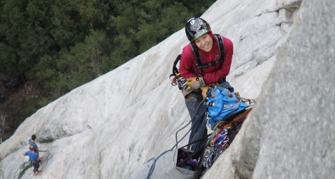 Wendy Ong on el cap