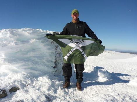 Scott Sears Gurkha Flag