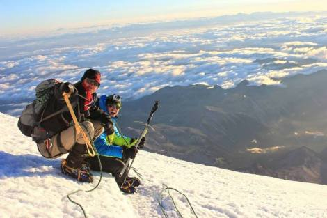 Scott Sears on Mountain