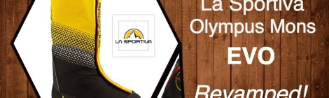 La Sportiva Olympus Mons Evo Boots Updated to Olympus Mons Cube