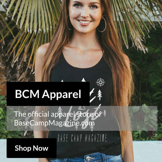 BCM Apparel, the official apparel store of Base Camp Magazine shop now