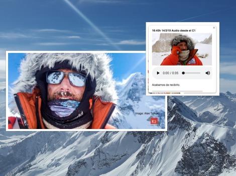 Alex Txikon Reaches Camp 1 on K2