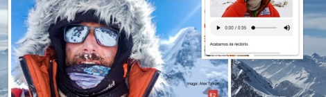 Alex Txikon Reaches Camp 1 on K2