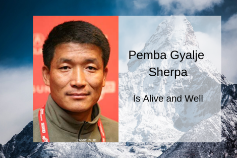 Is Pemba Gyalje Sherpa Dead?