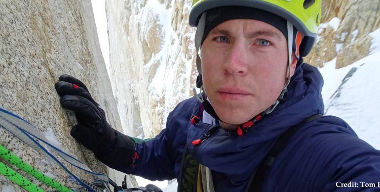 remembering Tom Ballard: tom ballard climber