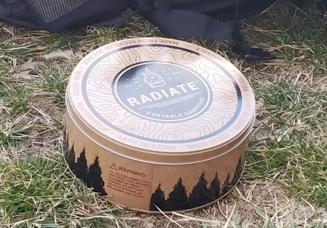 Radiate Portable campfire review at a glance