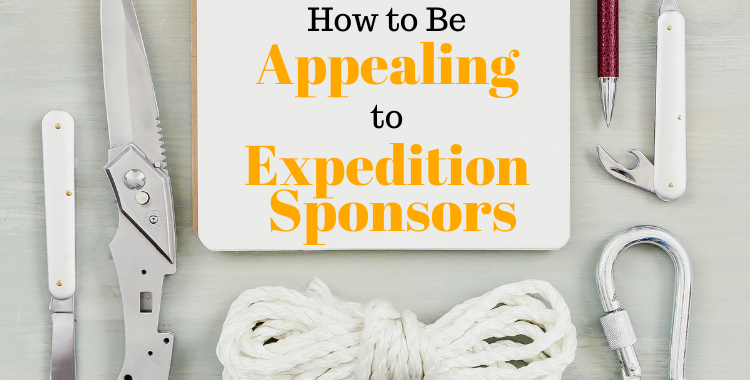 How to be Appealing to Expedition Sponsors