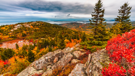 Autumn Hiking in Acadia National Park