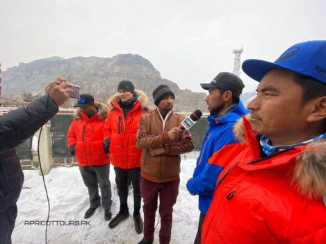 Apricot Tours k2 winter 2020 media interviews