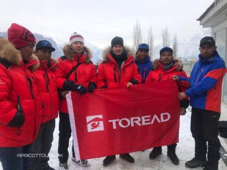 Apricot Tours toread sponsor photo shoot k2 winter 2020